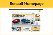 Renault Website